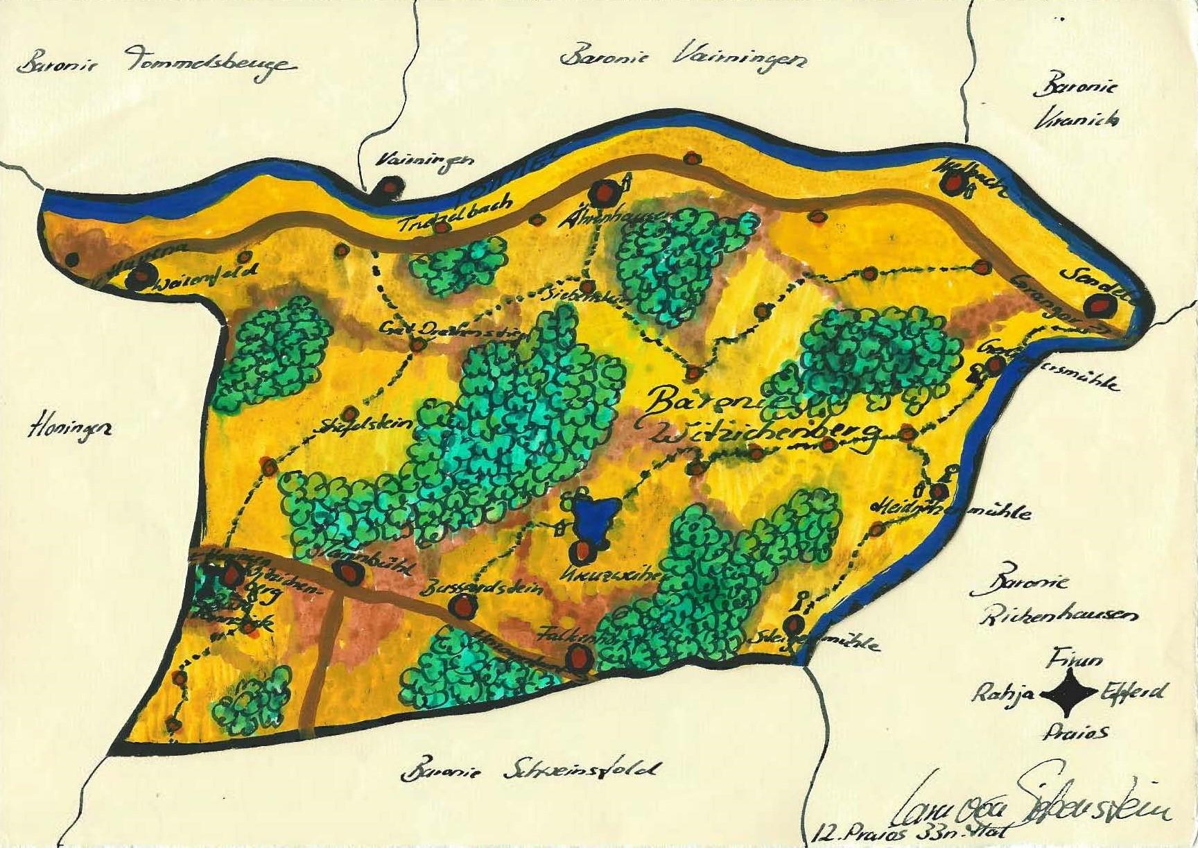 Karte Witzichenberg (c) S. Kirch